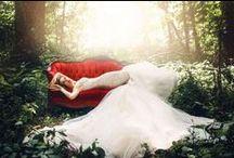 Galia Lahav Le Secret Royal / Woodland Fairytale Wedding Inspiration Photoshoot for Galia Lahav