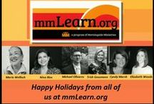 About Us / mmLearn.org provides free on-line training for caregivers of older adults.  We have  300+ videos from experts in geriatric care.  The information we provide is for all caregivers: healthcare professionals, family caregivers and pastoral caregivers. We also provide low cost contact hours for healthcare professionals.