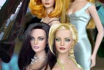 Barbie, Silver Stone, Poppy Parker ,Tonner and Sybarite Fashion dolls / Some Special Repainted dolls that I like  There's a limit to pin on this board 12 pins  per day.   / by MaiMai