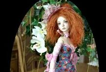 Artist art doll and ball jointed dolls / Some of the best Artist dolls that I like.  You are welcome to come back and pin again since I always update with new  pins anyway!  Thank you! / by MaiMai