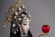 """Enchanted"" Art Dolls / by Pam Traves"