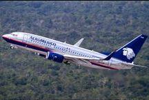Aeromexico / Aeroméxico (Aerovías de México S.A. de C.V.), es la aerolínea nacional de México, tienes sus oficinas en la Colonia Cuauhtémoc en Ciudad de México.  Ofrece vuelos dentro de México como vuelos internacionales. Viaja a toda América y el Caribe, Europa y Asia. Su base de operaciones está en el Aeropuerto Internacional de la Ciudad de México.