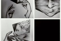 Illustration at mind / My art works ilustration drawing with pencil