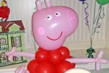 A Peppa Pig party / Ideas for a Peppa Pig party