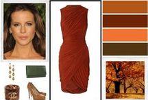 """""""warm autumn"""" colours"""