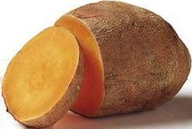 Yams and Sweet Potatoes / Yams are pretty sexy...  Especially the organic ones.  #sexyyams @goodnessgreeness