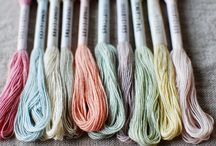Temaricious thread / Cotton natural hand dye thread by Temaricious