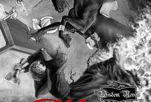 "Graphic Novel / WISDOM, THE BEGINNING - based off the prologue of book one ""Wisdom"" - www.WisdomBeginning.com"