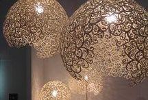 Luminaires Design / Exemples de luminaires design et beau pour donner de l'inspiration pour l'aménagement et la décoration de la maison. A associer avec des #ampoules #LED pour faire des économies d'énergie.
