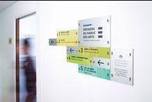 Gradation - Pépinière du Viaduc des Arts / Signalétique