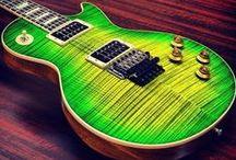 Guitars / All those beautiful guitars