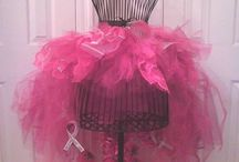 Breast Cancer Awareness & Autism stuff for work / Ideas for work, ok, not all are pink, but I got carried away by all the pretty tutus!