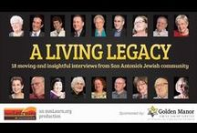 """Jewish Living Legacy Series / """"Sharing our Legacy is a candid and moving video series featuring members of the Jewish Community. 18 moving and insightful interviews from San Antonio's Jewish community. Each offering their thoughts on topics such as faith, death, dying, and more.   This series is sponsored by Golden Manor Jewish Senior Services in San Antonio, TX.  Produced by mmLearn.org  http://www.mmlearn.org"""