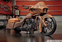 Road Glides / Custom Harley-Davidson Road Glides / by Baggers Mag