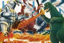 Poster - Japan - Godzilla / Movie posters about Godzilla and other monsters / by Rene Wanner