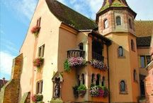 Chateaus, Castles, & Cottages II / Please pin (or 'like') only 10 - 15 pins per day - thank you / by Connie Lee