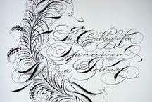 Calligraphy - Latin & Cyrillic / by Rene Wanner