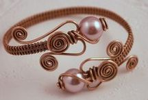 Beads and Wire (Bracelets) / by Mollie Zauner