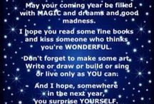 New Ewe / New Ewe, New Year, New Goals, New Dreams, New Ideas, New Beginnings, New Directions, New Faces, Newness.