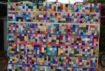 Postage stamp quilts / Postage stamp quilts