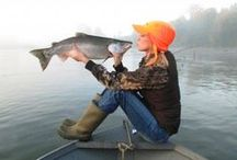 Fly Fishing Gals / Any thing guys can do, girls can do better.