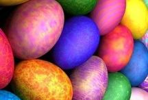 Easter / Easter time is a Celebration of Newness, Fertility and the Circle of Life. Chocolate Eggs, Bunnies, Spring Lambs and the Longer, Sunnier Days fill us with the hope, so often forgotten, in the depths of Winter gone.