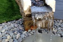 Water features and details