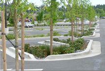 SUDS  & GI parking lots