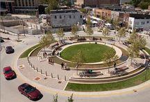 SUDS & GI roundabouts