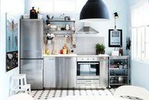 Piccoli spazi: la cucina / Esempi di piccole cucine.
