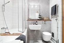 Piccoli spazi: il bagno / Esempi di piccoli bagni.