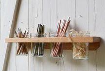 Fai da te bello e utile / Se non hai molto spazio puoi risparmiarne un po' facendo in modo che gli oggetti utili siano anche belli da vedere, così non avrai bisogno di decorazioni. Questi puoi realizzarli tu.