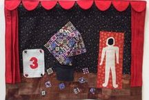 Festival of Quilts 2015 - Patchwork Magic / The Young Quilter/Young Embroiderer competition is held every year in Birmingham at the Festival of Quilts for ages 5 to 16. Congratulations to all of the entrants this year!