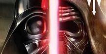 Star Wars / Darth Wader, Sidious, Maul Kylo Ren, Savage Opress, Imparator Palpatine Master Yoda..