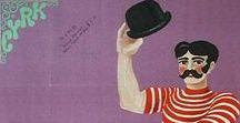Poster - Poland - Cyrk / Polish circus posters