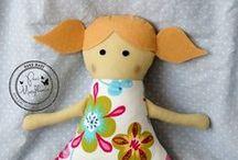 My handmade / My work other than dolls Tilda.