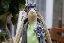 My bunnies inspired by Tilda