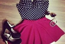 Skater Skirts/Dresses! / I might have a slight obsession with skater skirts & dresses!