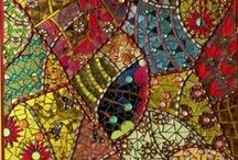 Mosaics / ..chips of ceramic and glass, stone, etc. / by Sherry Thomas