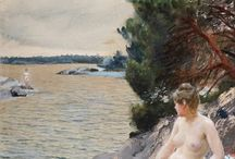 Art of Anders Zorn / Anders Leonard Zorn (1860 – 1920) was one of Sweden's foremost artists. He obtained international success as a painter.
