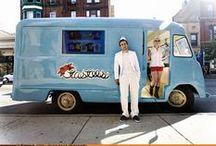 Ice Cream Carts, Vans & Food Trucks / by Frozen Sunshine