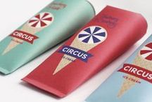 Ice Cream and Iceblock Packaging / by Frozen Sunshine