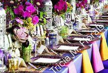 Tricia M. Florals / Modern flower design for a discerning clientele.   #concierge #eventdesign #upscaleflorist #weeklyflowers #floralservice #fashion #couture