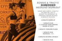 Weekend Workouts / Workouts you can do anywhere! We will share a new workout with you each Friday to keep your workouts fresh, exciting and #shredded!