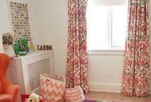 Georgia's room Fabric Board