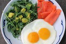 sniadania / kolacje / proteiny i tluszcze,