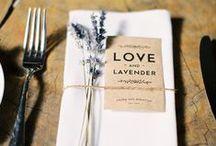 Lavender Wedding / Lavender themed Wedding