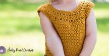 Salty Pearl Crochet's Free Crochet Patterns / A collection of the best free crochet patterns you can find on my blog, Salty Pearl Crochet. Find boho crochet patterns, toddler crochet patterns, free crochet hat patterns, and crochet decor patterns free from my blog!