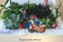 Rozeta's Minigardens / My passion, My Work  Mini gardens, succulents, kokedama and more