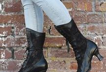 Hitting The Streets / Our boots aren't only for intense wardrobe. Wear it with everyday looks
